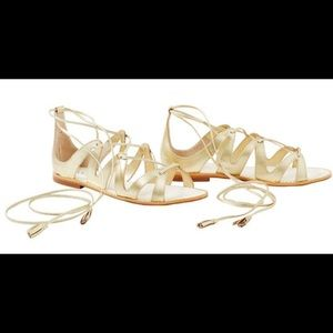 Lilly pulietzer Fit To Be Tied Gladiator Sandal
